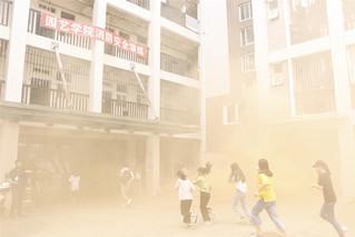 园艺学院联合举办消防安全疏散演...